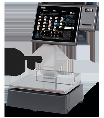 Balanza PC Dibal CS-2100 Doble cuerpo